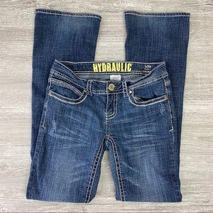 Hydraulic Lola Curvy Slim Boot Cut Jeans